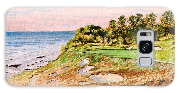 Whistling Straits Golf Course 17th Hole Galaxy Case by Bill Holkham