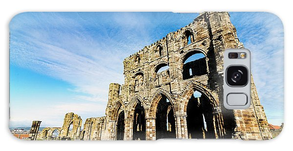 Galaxy Case featuring the photograph Whitby Abbey by Anthony Baatz
