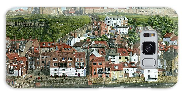 Dracula Galaxy Case - Whitby Harbor North Yorkshire  by Richard Harpum