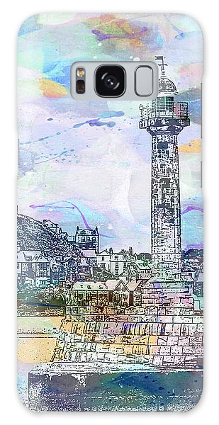 Whitby Harbour Galaxy Case