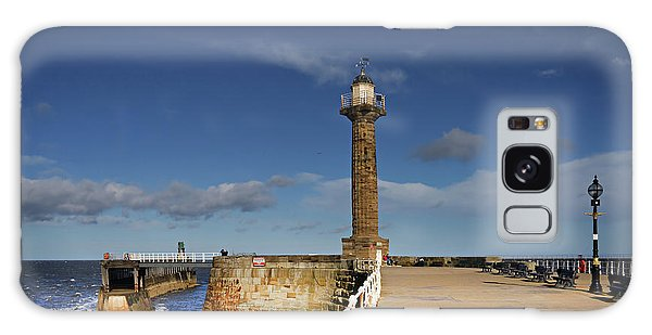 Pier Galaxy Case - Whitby Lighthouse by Smart Aviation