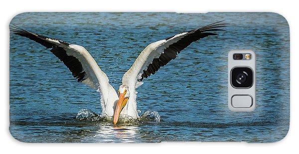 White American Pelican Galaxy Case by Pamela Williams