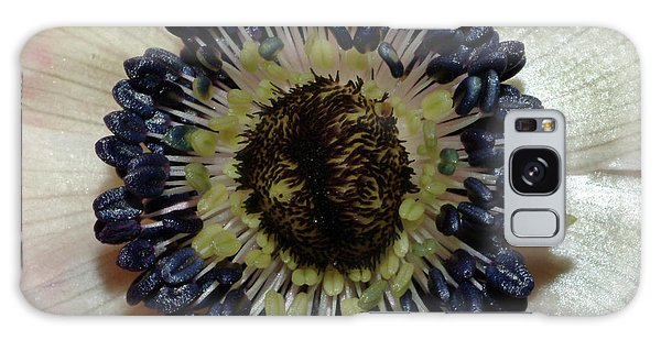 White Anemone Galaxy Case