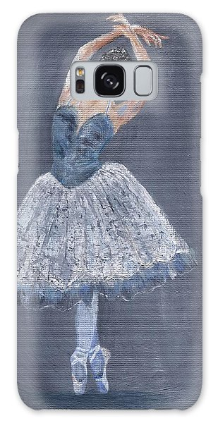 Galaxy Case featuring the painting White Ballerina by Jamie Frier
