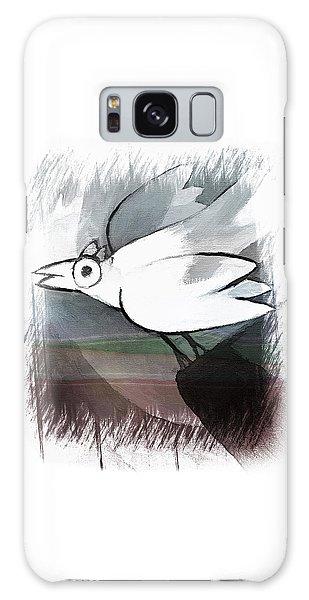 White Bird Galaxy Case
