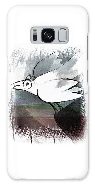 White Bird Galaxy Case