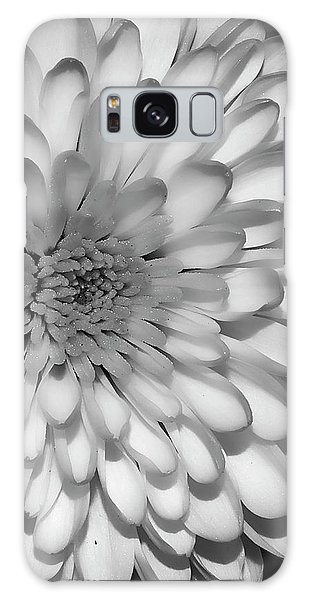White Bloom Galaxy Case