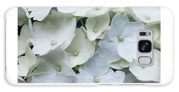 White Blossom Galaxy Case