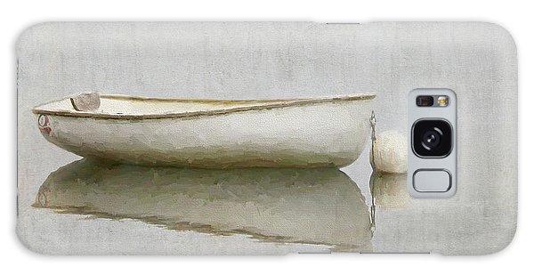 White Boat Galaxy Case
