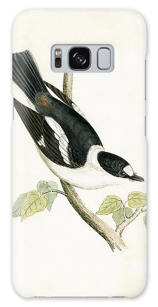 Flycatcher Galaxy Case - White Collared Flycatcher by English School
