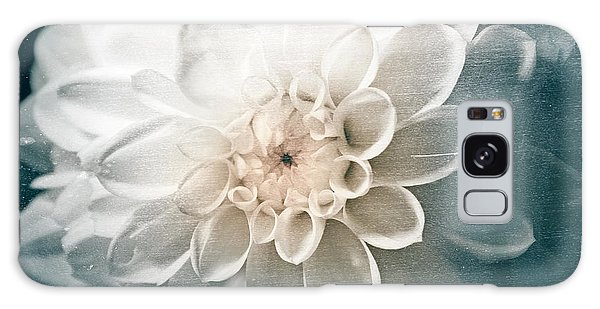 White Dahlia Galaxy Case