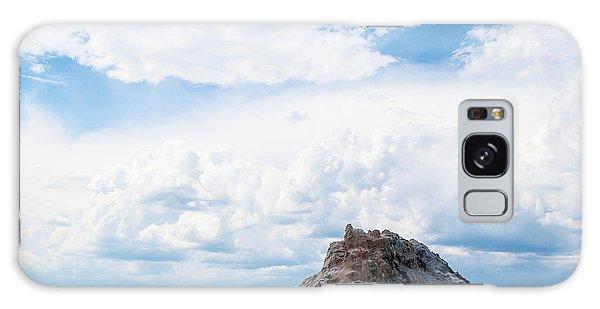 White Dome Geyser Galaxy Case