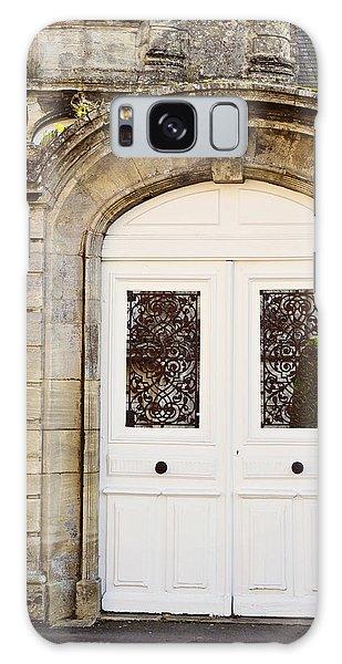 White Door Galaxy Case