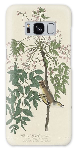 Flycatcher Galaxy Case - White-eyed Flycatcher by Dreyer Wildlife Print Collections