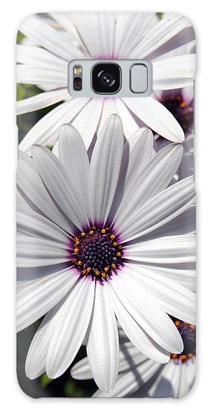 White Flower 1 Galaxy Case