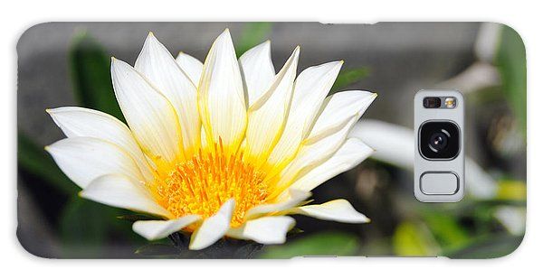 White Flower 3 Galaxy Case