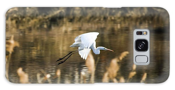 White Heron Galaxy Case