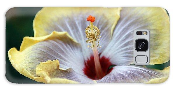 White Hibiscus Galaxy Case
