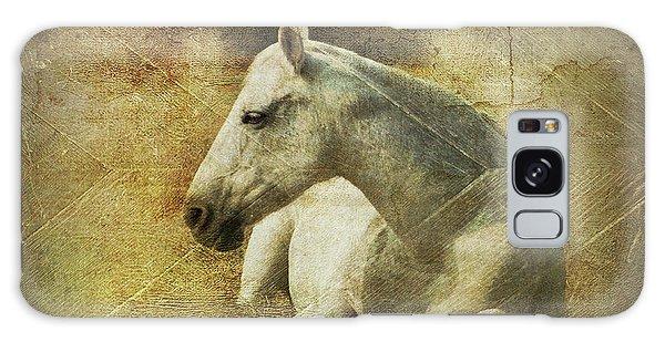 White Horse Art Galaxy Case