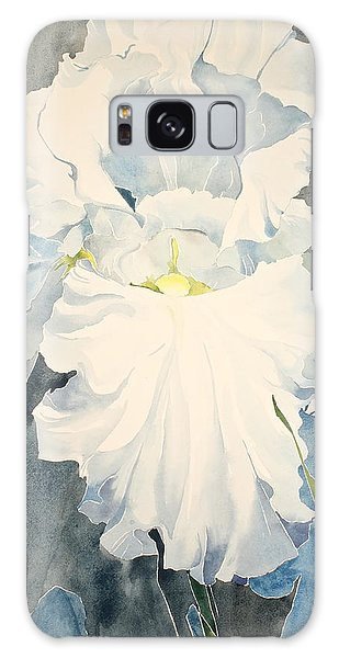 White Iris - For Van Gogh - Posthumously Presented Paintings Of Sachi Spohn   Galaxy Case