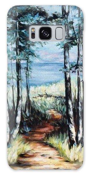 White Mountain Forest Galaxy Case