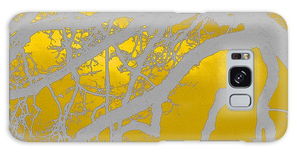 White Oak -yellow Orange Galaxy Case by Tom Janca