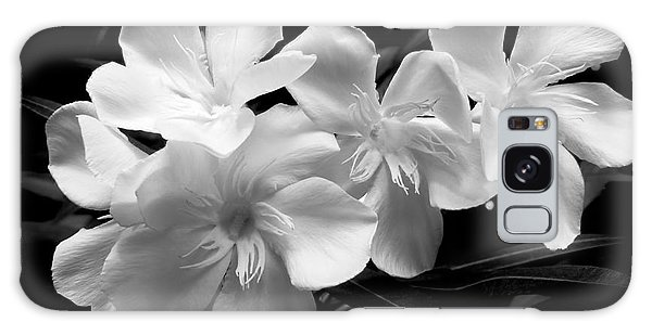 White Oleander Galaxy Case by Amar Sheow