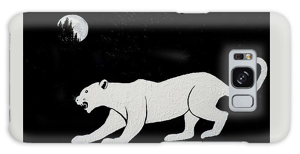 White Panther Galaxy Case