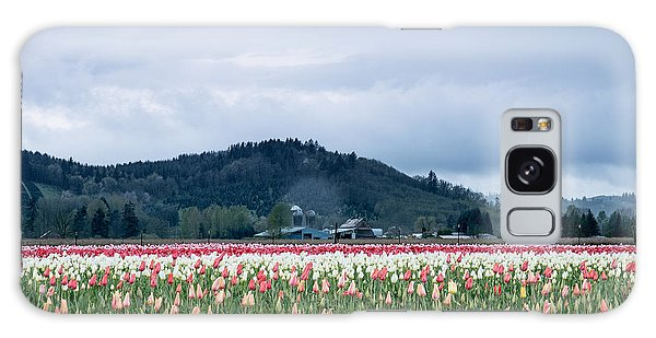 White Pass Highway With Tulips Galaxy Case