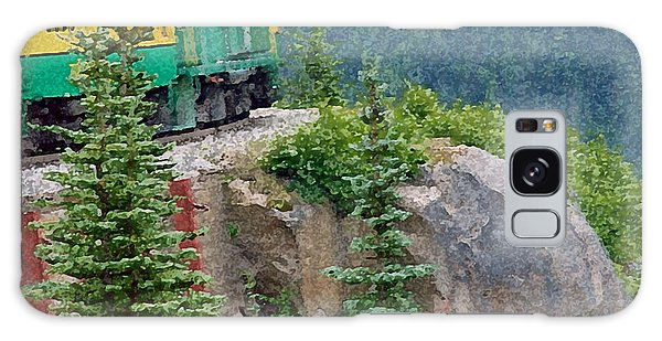 White Pass Train Alaska - Canada Galaxy Case