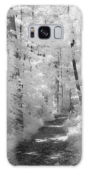 White Path Galaxy Case