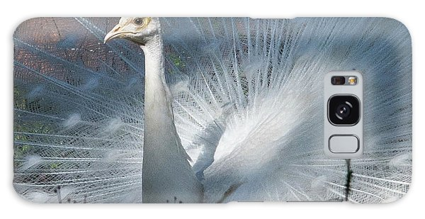 White Peacock Galaxy Case by Lamarre Labadie