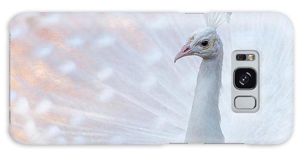 White Peacock Galaxy Case by Sebastian Musial