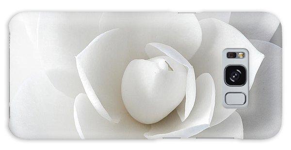 White Petals Galaxy Case