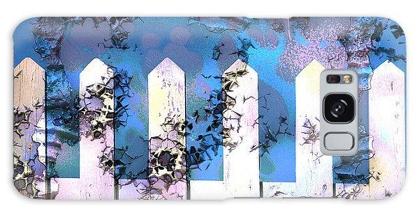 White Picket Fence Galaxy Case