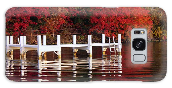 White Pier - Lake Geneva Wisconsin Galaxy Case