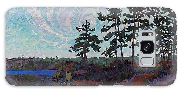 White Pine Island Galaxy Case