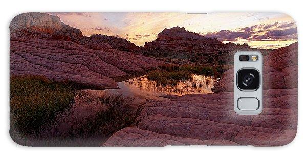 White Pocket Sunset Galaxy Case by Jonathan Davison