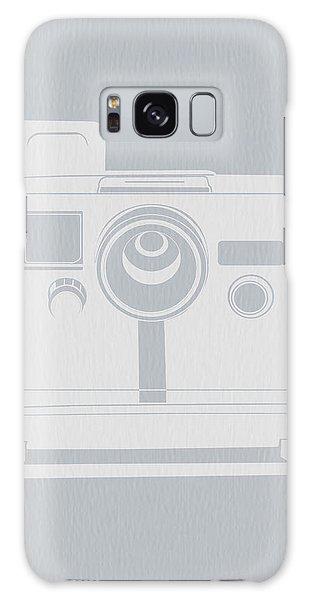 Camera Galaxy Case - White Polaroid Camera by Naxart Studio