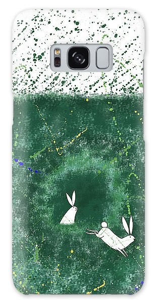 Colour Galaxy Case - White Rabbits  by Andrew Hitchen
