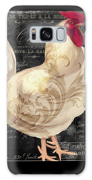 White Rooster Cafe I Galaxy Case by Mindy Sommers
