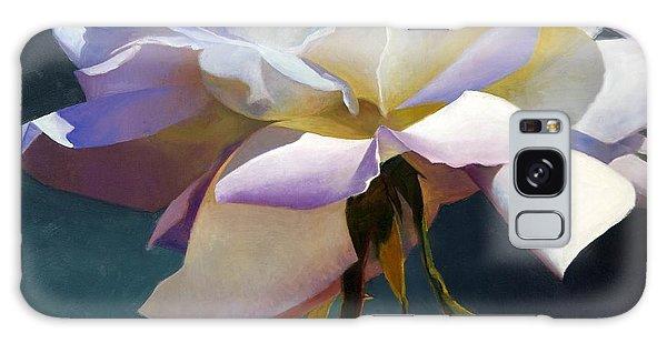 White Rose Of Eden Galaxy Case