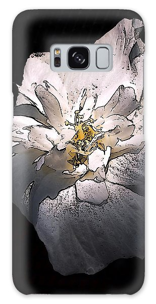 White Rose Of Sharon Galaxy Case