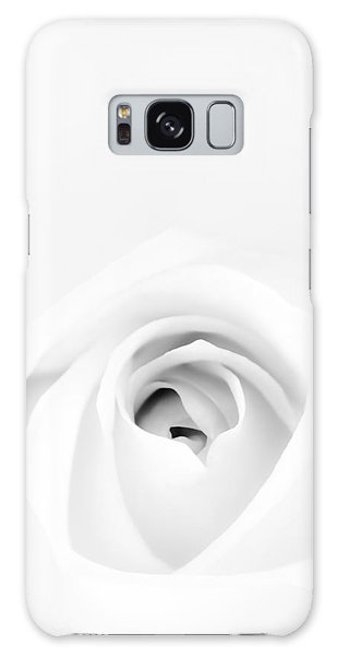 Bright Galaxy Case - White Rose by Scott Norris