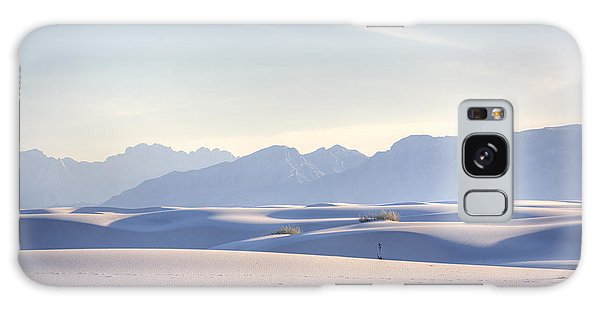 Desert Galaxy Case - White Sands Blue Sky by Peter Tellone
