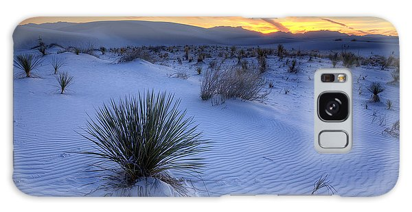 Desert Galaxy Case - White Sands Sunset by Peter Tellone