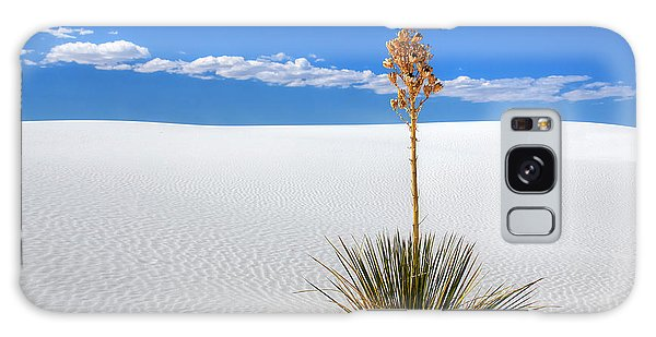 White Sands Yucca Galaxy Case
