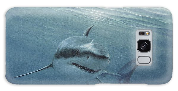 White Shark Galaxy Case