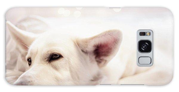White Shepherd Galaxy Case