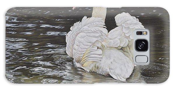 White Swan Galaxy Case